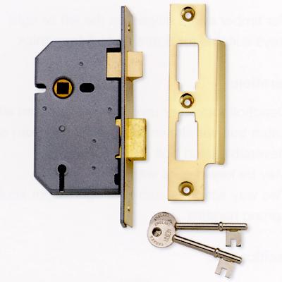 3-Lever Mortice Sash Lock