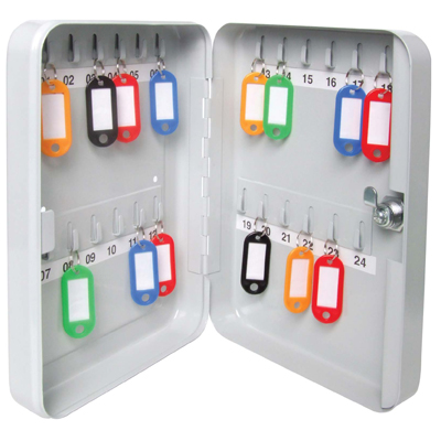 Kc24 Lockable Key Cabinet 24 Keys