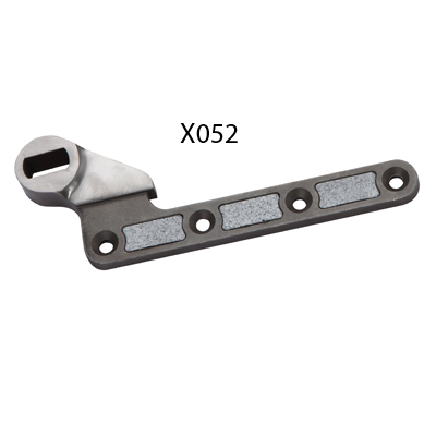 X052 Floor Spring Single Action Bottom Fitting Strap 25mm