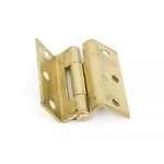 From The Anvil 91044 - Self Coloured Brass 2.5 inch Stormproof Hinge (pair)