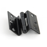 From The Anvil 91046 - Black 2.5 inch Stormproof Hinge (pair)
