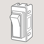 Wandsworth 12 - Double Pole Rocker Switch