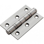 From The Anvil 91038 - Satin Stainless Steel Ball Bearing Butt Hinge 3 x 2.5 inch