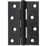 From The Anvil 91042 - Black Heavy Duty Butt Hinge 4  x 2.75 inch