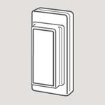 Wandsworth 18 - Blank/Dummy Rocker Switch