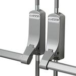 Exidor 316 - Double Door Set for Non-Rebated Double Doors with Vertical Pullman Latches