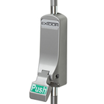 Exidor 310 - Push Pad Single Panic Bolt with Vertical Pullman Latches