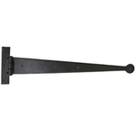 From The Anvil 33009 - Black T-Hinge with Penny End 18 inch