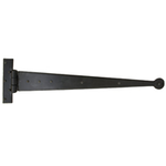 From The Anvil 33012 - Black T-Hinge with Penny End 22 inch