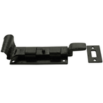 From The Anvil 33014 - Black Cranked Bolt 4 inch - Outward Opening