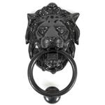 From The Anvil 33018 - Black Lions Head Door Knocker