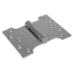 From The Anvil 33046 - Pewter Patina Ball Bearing Parliament Hinge 4 x 5 inch