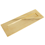 From The Anvil 33050 - Polished Brass Large Letter Plate