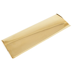 From The Anvil 33051 - Polished Brass Large Letter Plate Cover