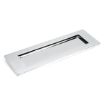 From The Anvil 33052 - Polished Chrome Large Letter Plate