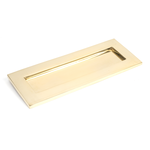 From The Anvil 33060 - Polished Brass Small Letter Plate