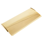 From The Anvil 33061 - Polished Brass Small Letter Plate Cover