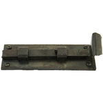 From The Anvil 33126 - Beeswax 6 inch Straight Door Bolt - Inward Opening