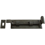 From The Anvil 33128 - Beeswax 6 inch Cranked Door Bolt - Outward Opening