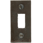 From The Anvil 33128R - Beeswax Spare Receiver Mortice Plate for 33128
