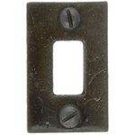 From The Anvil 33129R - Beeswax Spare Receiver Mortice Plate for 33129