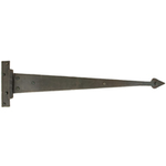 From The Anvil 33158 - Beeswax Arrow Head Hinge 18 inch