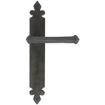 From The Anvil 33171 - Beeswax Tudor Lever Latch on Backplate Set