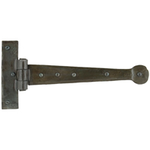 From The Anvil 33204 - Beeswax T-Hinge Penny End 9 inch