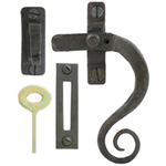 From The Anvil 33212 - Beeswax Monkeytail Locking Window Fastener - Right Hand