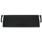 From The Anvil 33227 - Black Large Letter Plate Cover