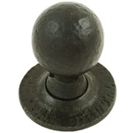From The Anvil 33230 - Beeswax Round Mortice Rim Knob Set