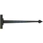 From The Anvil 33233 - Black Barn Door T-Hinge 36 inch