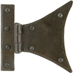 From The Anvil 33259 - Beeswax Half Butterly Hinge 3.25 x 3.25 inch