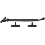 From The Anvil 33293 - Black Pear Drop Casement Stay 305mm