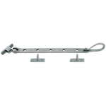 From The Anvil 33607 - Pewter Patina Shepherd's Crook Casement Stay 305mm