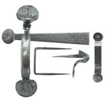 From The Anvil 33649 - Pewter Patina Medium Bean Thumblatch