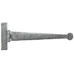 From The Anvil 33652 - Pewter Patina T-Hinge Penny End 12 inch