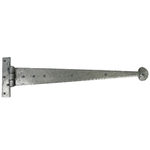 From The Anvil 33655 - Pewter Patina T-Hinge Penny End 22 inch