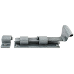 From The Anvil 33660 - Pewter Patina Straight Cupboard Bolt - 4 inch Inward Opening