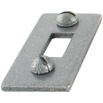 From The Anvil 33661K - Pewter Patina Spare Receiver Mortice Plate for 33659/33720