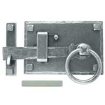 From The Anvil 33667 - Pewter Patina Cottage Latch - Right Hand