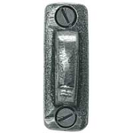 From The Anvil 33669 - Pewter Patina Window Fastener Hook Plate