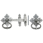 From The Anvil 33685 - Pewter Patina Shakespeare Latch Set