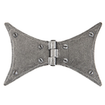 From The Anvil 33761 - Pewter Patina Butterfly Hinge 4 inch