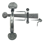 From The Anvil 33762 - Pewter Patina Medium Bean Thumblatch XL
