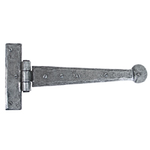 From The Anvil 33789 - Pewter Patina T-Hinge Penny End 9 inch