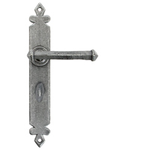From The Anvil 33802 - Pewter Patina Tudor Lever Bathroom Set