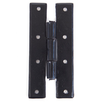 From The Anvil 33810 - Black 4 inch H Hinge (pair)