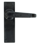 From The Anvil 33878 - Black Deluxe Lever Latch Set