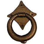 From The Anvil 33908 - Bronze Ring Door Knocker